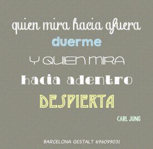 Carl Jung, frases, gestalt, bcn gestalt