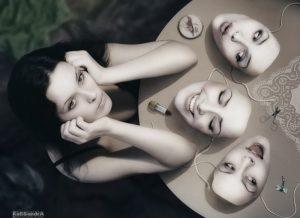 mis propias máscaras y personajes, terapia Gestalt
