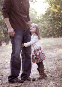 niña con su padre reconocimiento gestalt