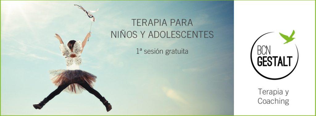 terapia niños, terapia adolescentes, terapia barcelona